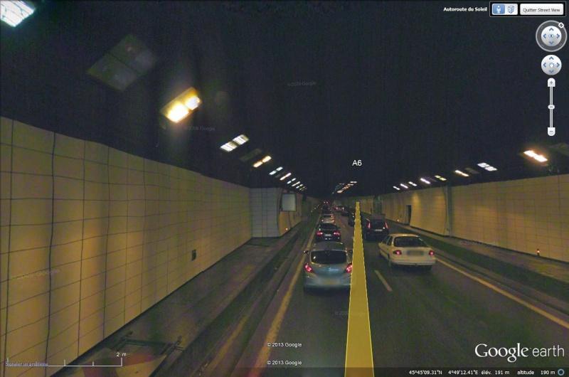 Les tunnels illustrés avec Google Earth Tunnel13