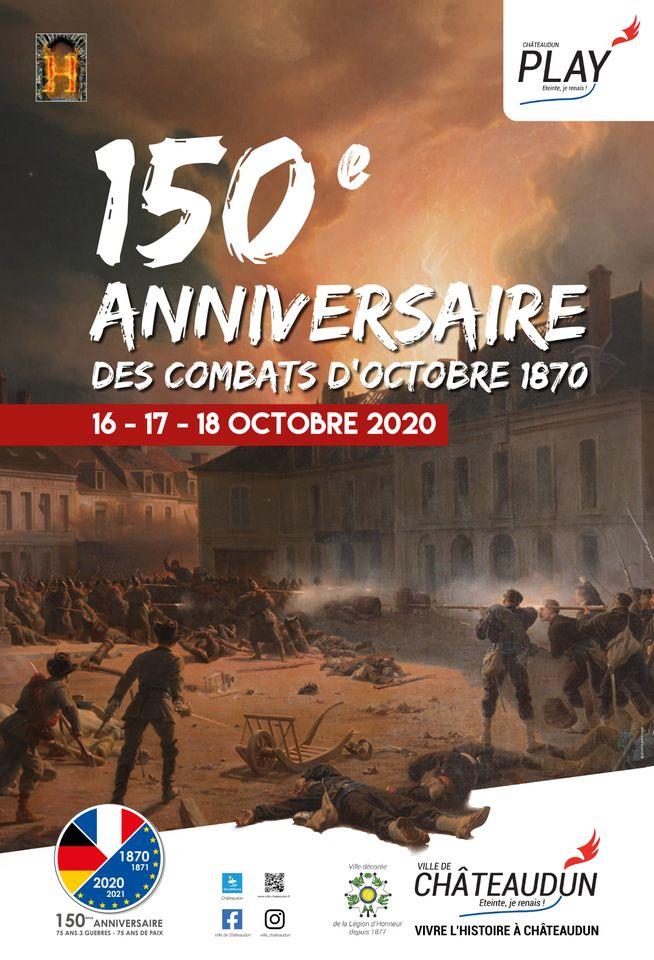 Commémoration du 150 ème anniversaire de la bataille du 18 octobre à Chateaudun 12059810