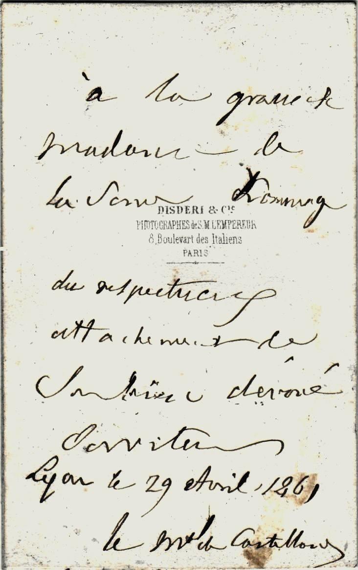 Photo dédicacée du Maréchal DE CASTELLANE, un  vétéran de l'Empire... Img_2012