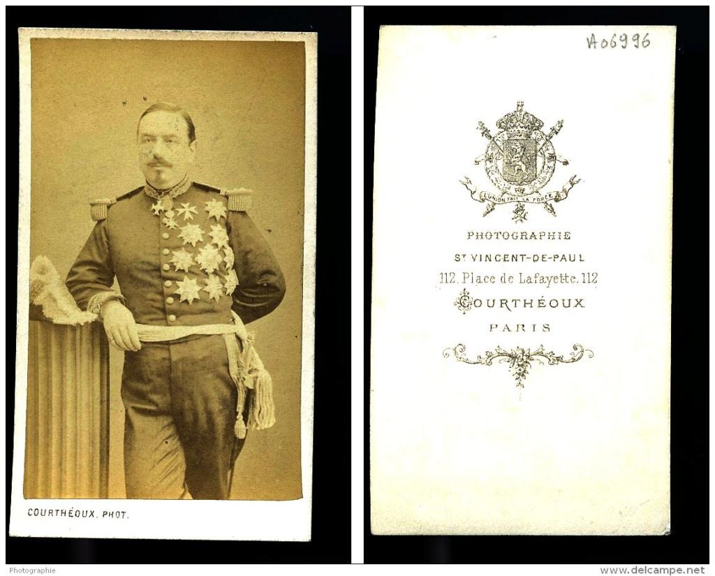 Plaque de  grand officier , général second empire ??? Milit10