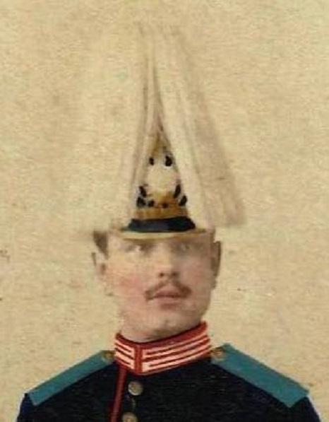 Photo officier ou sous officier dragon de la garde PRUSSIENNE??? Prussi11