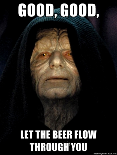 OT - Star Wars and Beer! 31538210