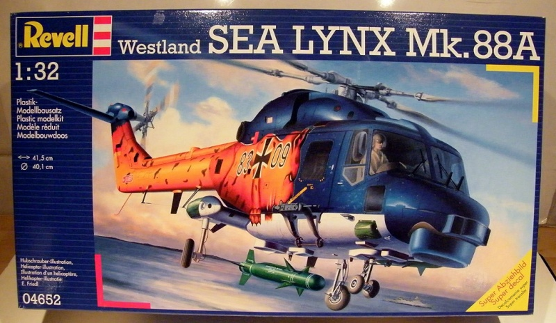 Montage Du SEA Lynx Mk.88A Revell - Échelles1/32 Dscf4210