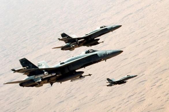 F-18C de la VFA 83 en Irak F-18cs10