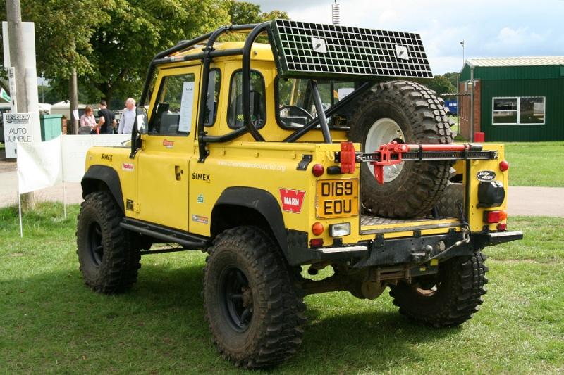 [ SCX10 Axial ] def 90 pick up Yellow12