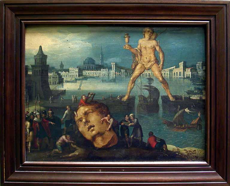 LE COLOSSE DE RHODES  (vers -292) 6è Merveille du Monde Antique Louis_10