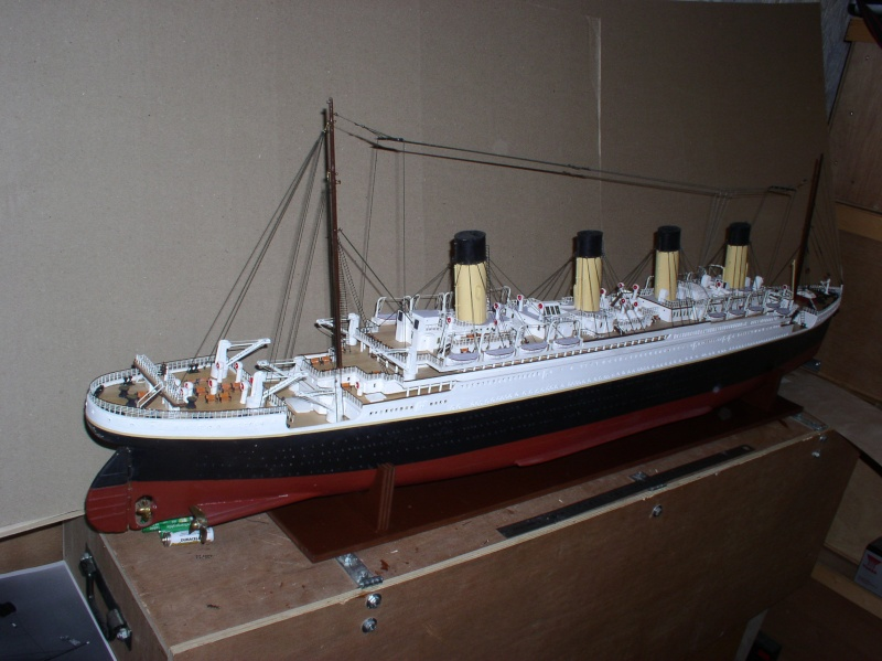 Le Titanic d'après les plan de JC ROSSO  au 1/200ème  - Page 8 10100710