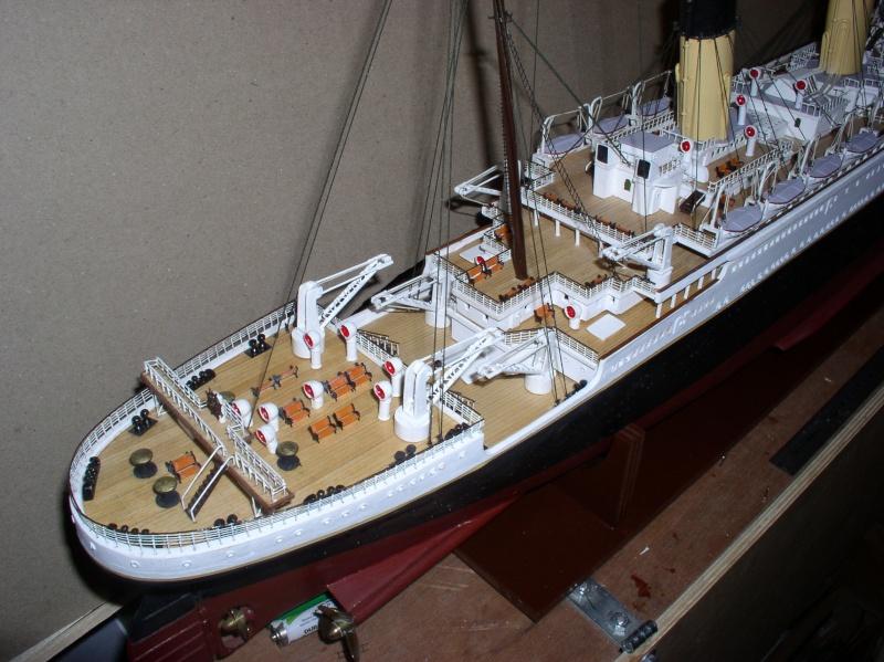 Le Titanic d'après les plan de JC ROSSO  au 1/200ème  - Page 8 10100711