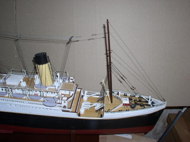 Le Titanic d'après les plan de JC ROSSO  au 1/200ème  - Page 8 10100712
