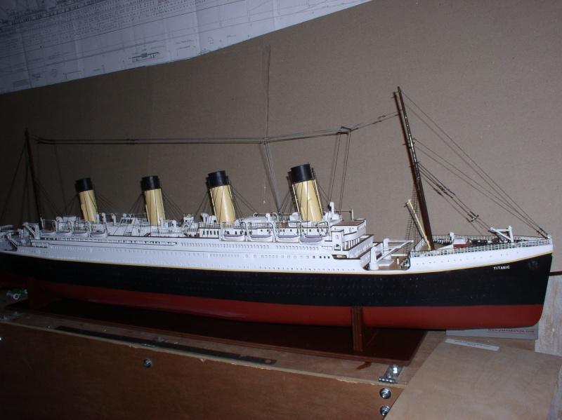 Le Titanic d'après les plan de JC ROSSO  au 1/200ème  - Page 8 10100810
