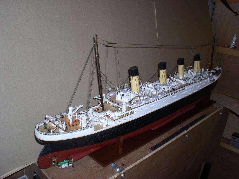 Le Titanic d'après les plan de JC ROSSO  au 1/200ème  - Page 8 10100811