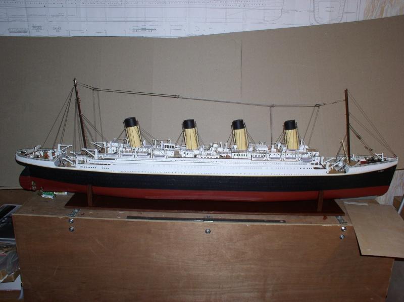 Le Titanic d'après les plan de JC ROSSO  au 1/200ème  - Page 8 10100812