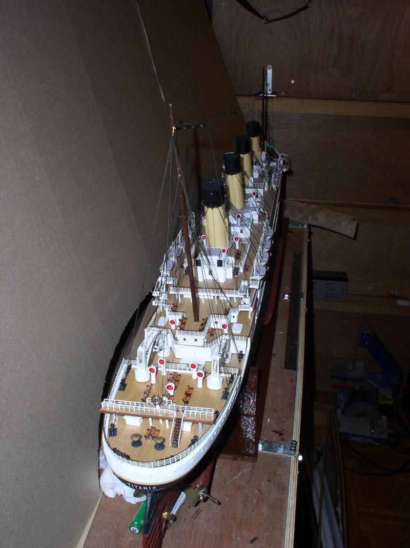 Le Titanic d'après les plan de JC ROSSO  au 1/200ème  - Page 8 10100813