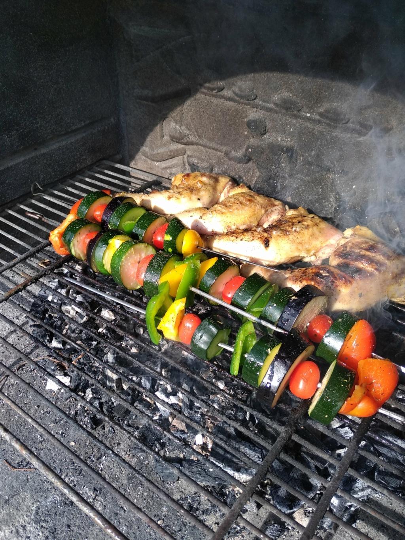 coté cuisine chez ETF Barbec10