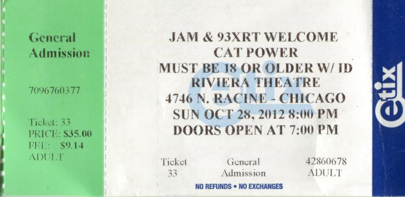 10/28/12 - Chicago, IL, Vic Theater Img18710