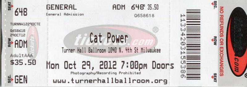 10/29/12 – Milwaukee, WI, Turner Hall  Img18810