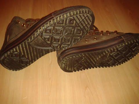 Chaussures CONVERSE CUIR MARRON 39 810