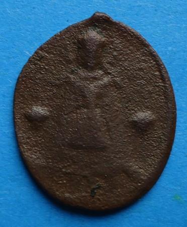 Médaille St-Hubert &  Notre Dame de Liesse - XVII/XVIIIème Gd021211