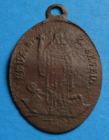 Médaille St-Benoît - fin XIXème Gd050210