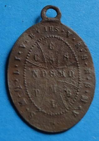 Médaille St-Benoît - fin XIXème Gd051210