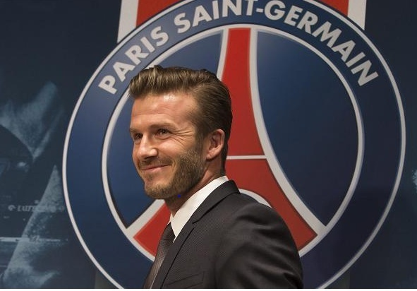 Becks says 'oui' to Paris St Germain  Bb10