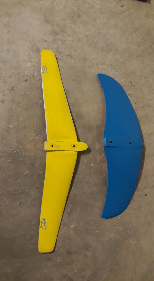 [Vendue] Proto kitefoil Francky 520 Euros à débattre 12027810