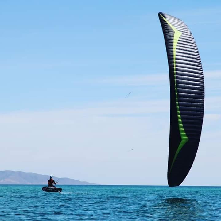 Nouveau Race kite de chez GIN pour Maxime NOCHER.. 20190310