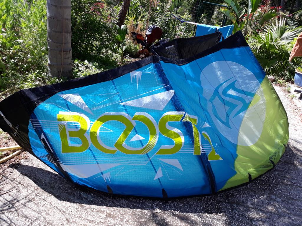 A Vendre : Flysurfer BOOST 2 Taille :7 Prix : 375 Euros . 20190625