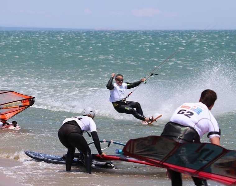 Record du monde du mile nautique en Flysurfer Soul pour Robbie Douglas 62624210