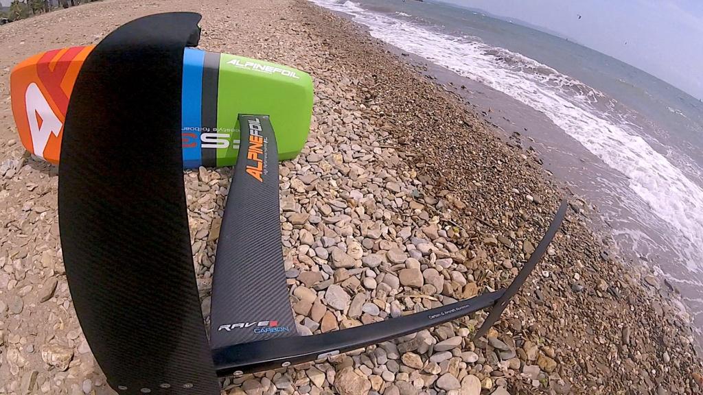Test Alpinefoil RAVE /Aile RLW + Board Freestyle 3 Gopr7512