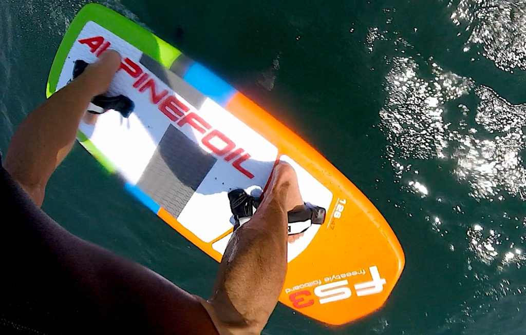 Test Alpinefoil RAVE /Aile RLW + Board Freestyle 3 Gopr7513
