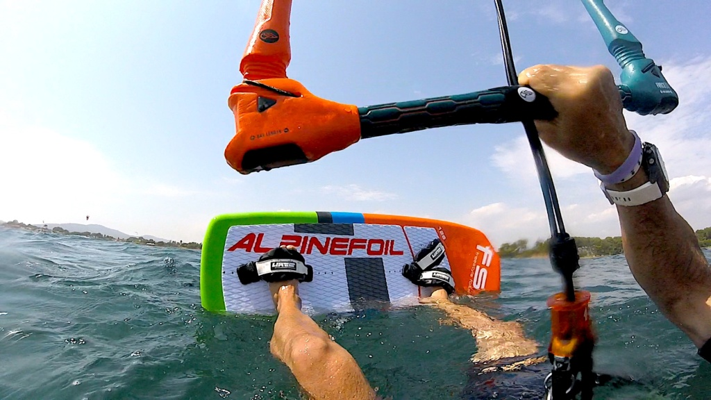 Test Alpinefoil RAVE /Aile RLW + Board Freestyle 3 Gopr7516