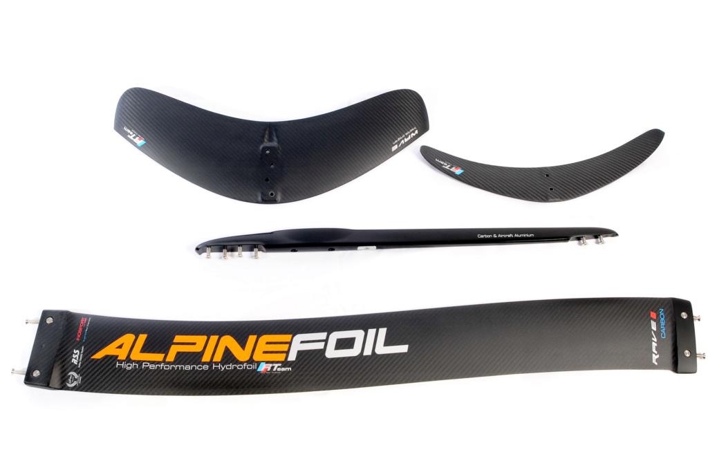 Nouveau foil Rave Carbon chez ALPINEFOIL Kitefo15