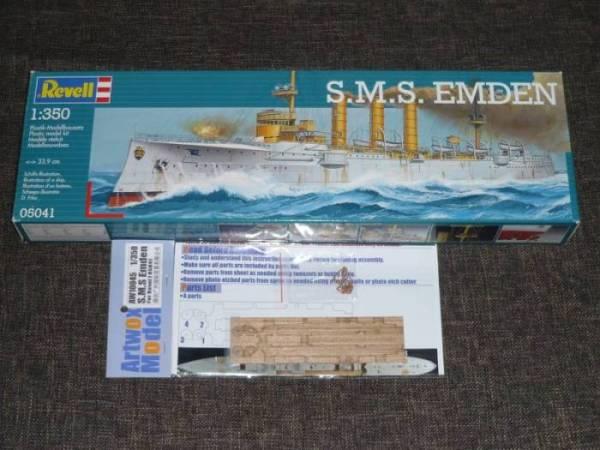 Bau der SMS Emden und Dresden P1040947
