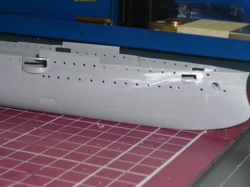 Bau der SMS Emden und Dresden P1040959