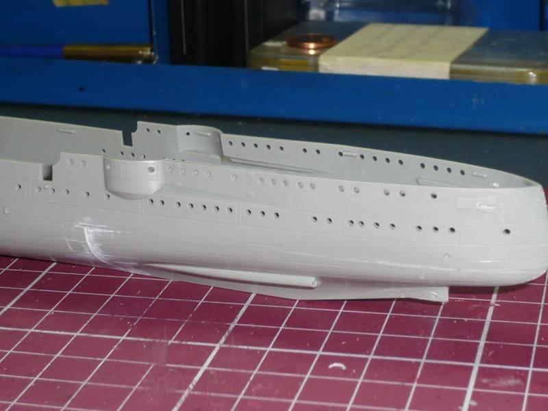 Bau der SMS Emden und Dresden P1040962