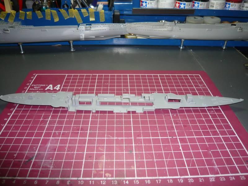Bau der SMS Emden und Dresden P1040967