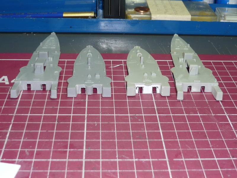 Bau der SMS Emden und Dresden P1040969