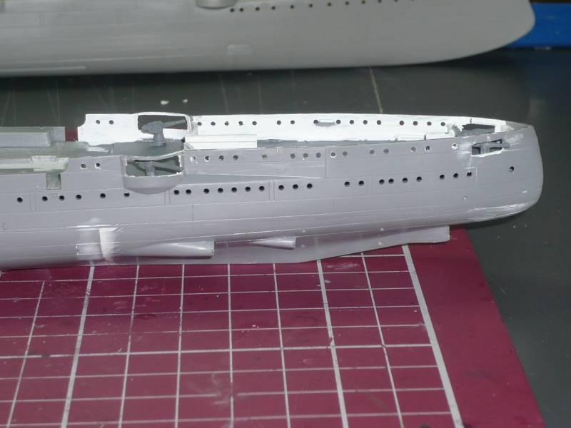 Bau der SMS Emden und Dresden P1040976
