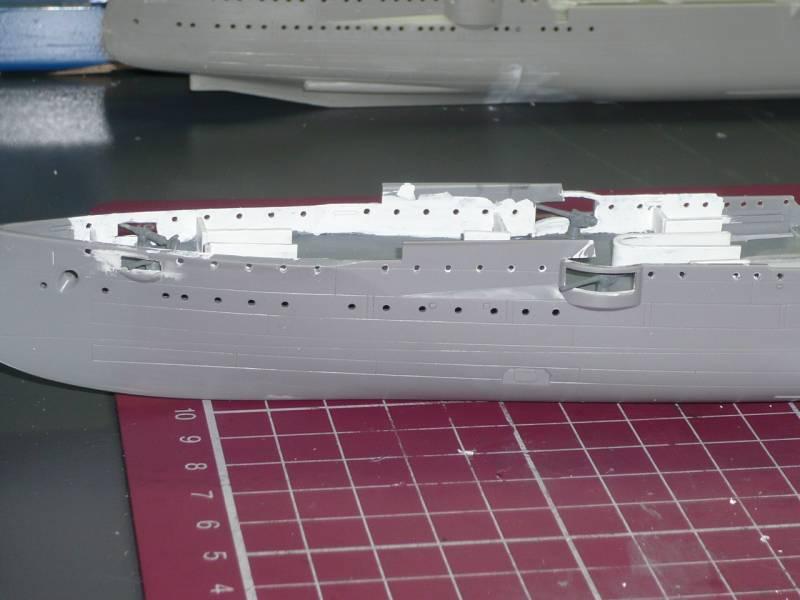 Bau der SMS Emden und Dresden P1040977