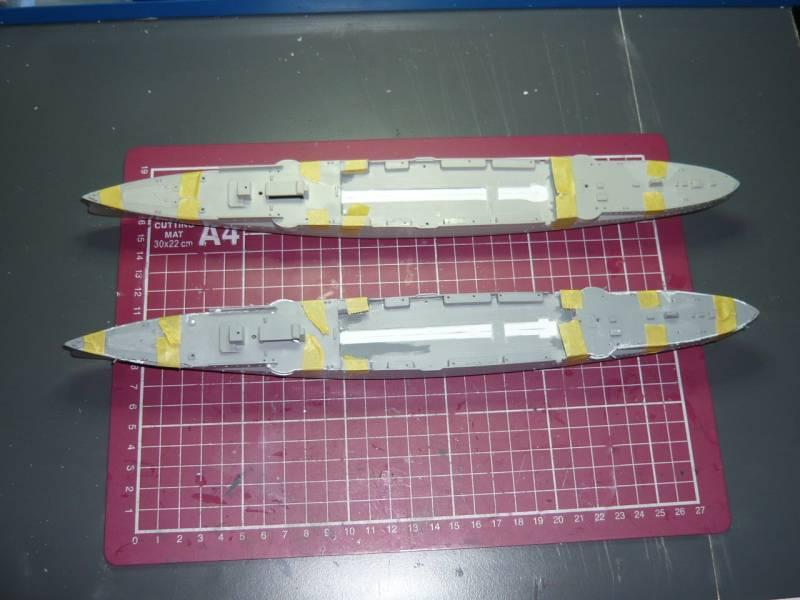 Bau der SMS Emden und Dresden P1040979