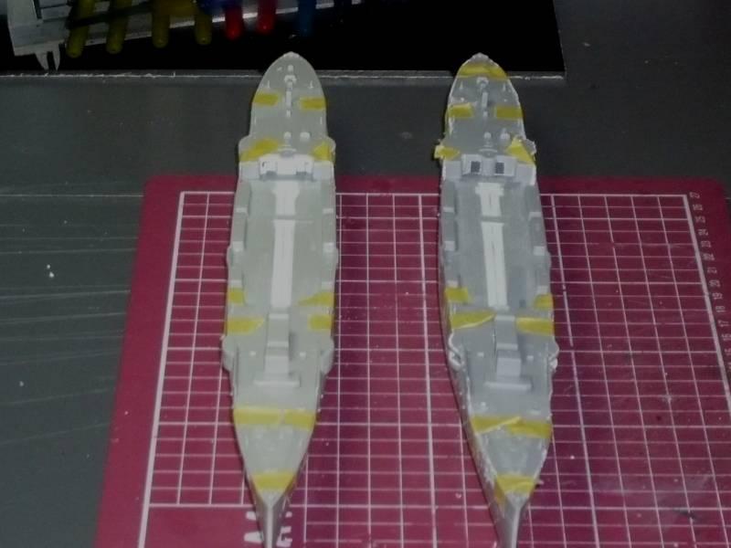Bau der SMS Emden und Dresden P1050013