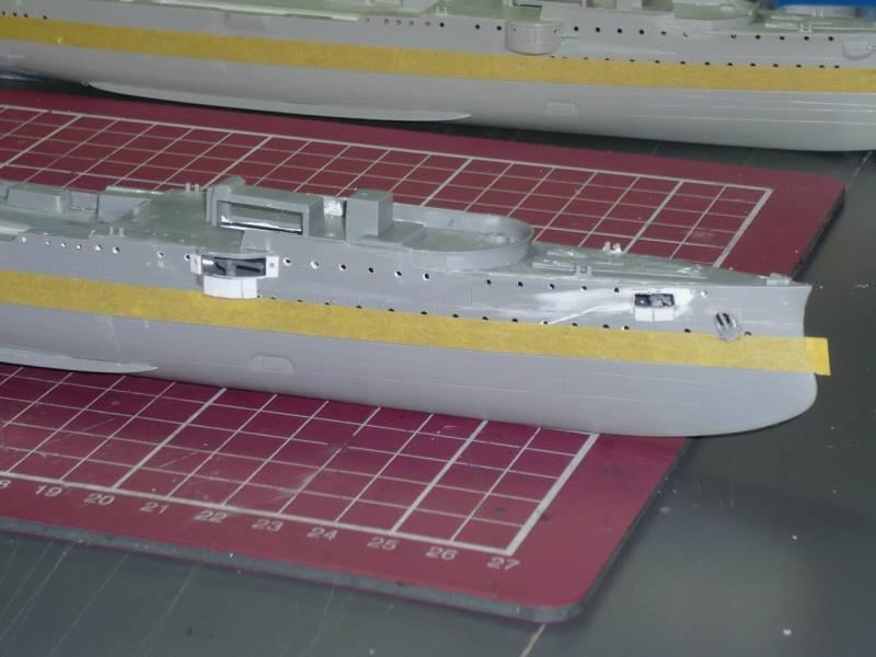 Bau der SMS Emden und Dresden P1050023