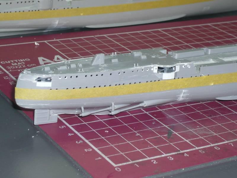 Bau der SMS Emden und Dresden P1050024