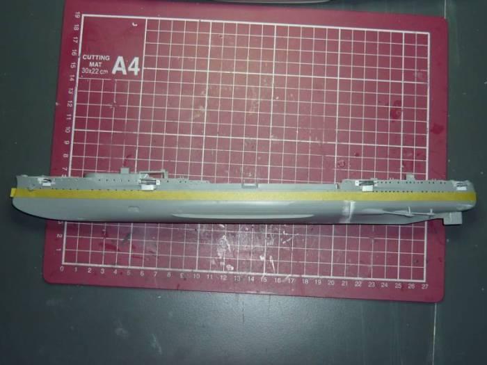 Bau der SMS Emden und Dresden P1050025