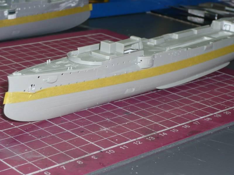 Bau der SMS Emden und Dresden P1050026