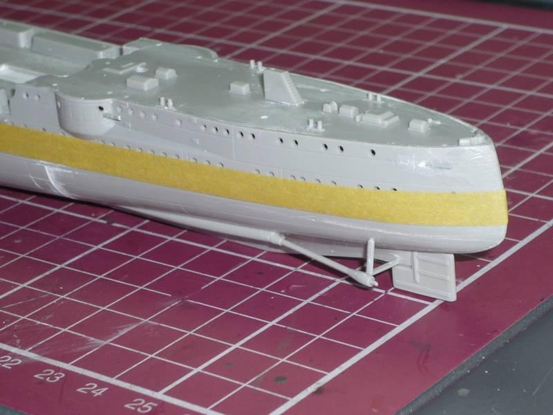 Bau der SMS Emden und Dresden P1050027