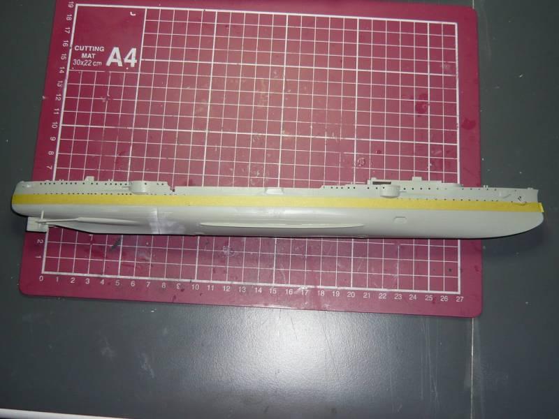 Bau der SMS Emden und Dresden P1050028