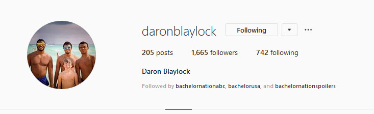 Bachelorette 15 - Daron Blaylock - *Sleuthing Spoilers* 2019-078