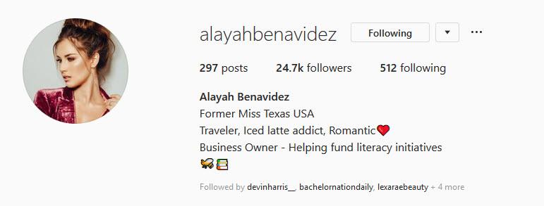 Alayah Benavidez - Bachelor 24 - *Sleuthing Spoilers* - Page 2 2019-177